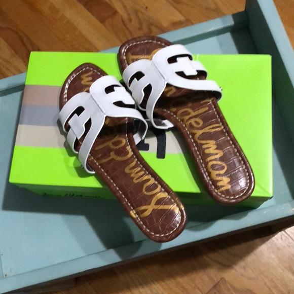 9155a561211e49 New Sam Edelman Bay Sandals size 8.